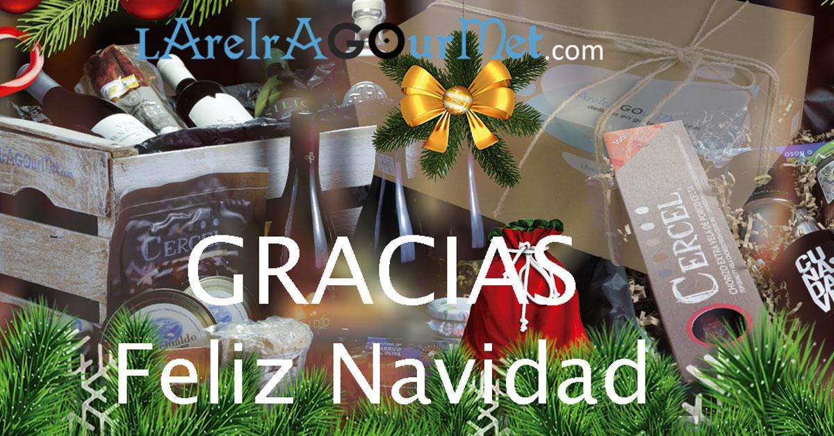 Gracias y feliz Navidad